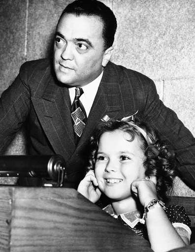 Shirley Temple, J. Edgar Hoover