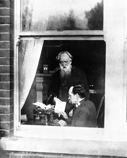Rev. William Booth in his study, 1906.