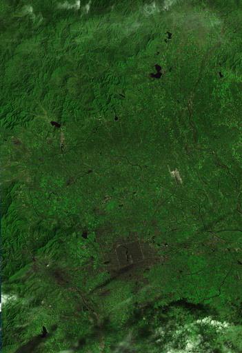 Wider Image: Earthprints: Beijing