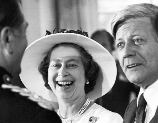 Queen Elizabeth II. on state visit in Germany 1978