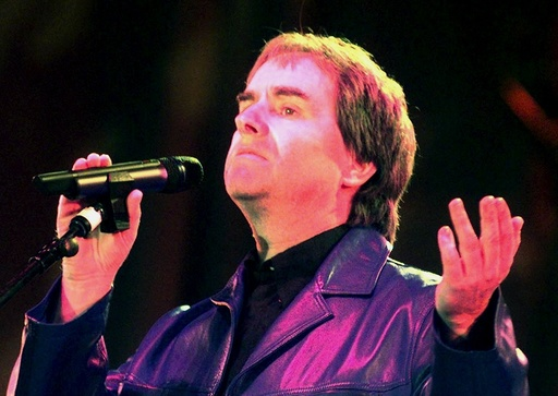 CHRIS DE BURGH PERFORMS AT DIANA CONCERT AT ALTHORP