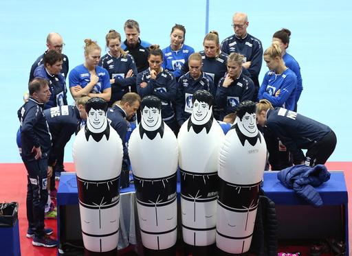 EM håndball kvinner i Sverige. Scandinavium Gøteborg.