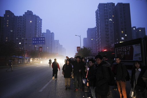 Wider Image: Earthprints: Beijing