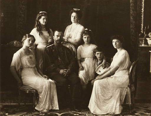 The Family of Tsar Nicholas II of Russia, 1914.