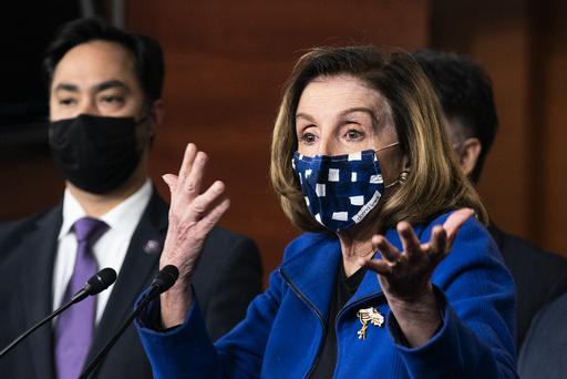 En uavhengig kommisjon skal granske stormingen av Kongressen og politiets og sikkerhetsmyndighetenes håndtering både før og under det som skjedde, opplyser Demokratenes leder i Kongressen, Nancy Pelosi. Foto: AP / NTB