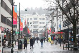 414 av innbyggerne i Kristiansand har fått påvist korona i februar. Søndag ble det registrert ti nye smittetilfeller. Foto: Tor Erik Schrøder / NTB