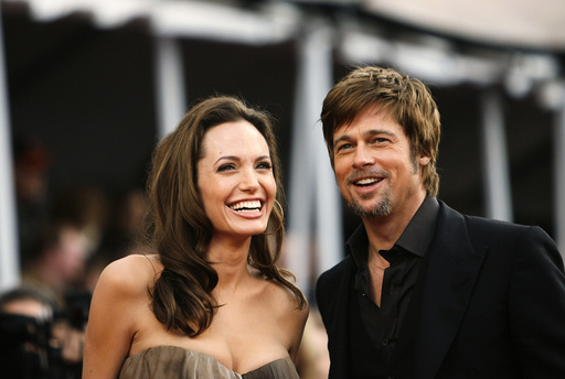 Actors Angelina Jolie and Brad Pitt arrive at the 14th annual Screen Actors Guild Awards in Los Angeles