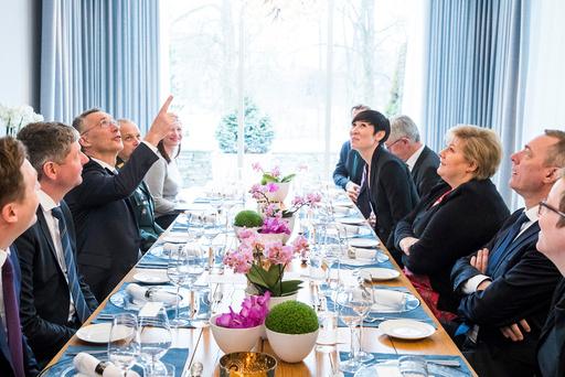 Jens Stoltenberg på offisielt besøk i Norge