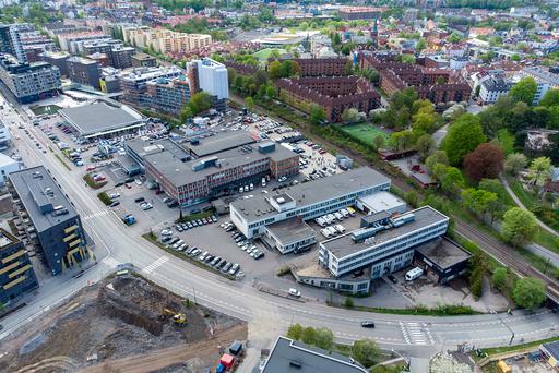 Ensjøveien 3, 5 og 7. Hit skal NRK flytte sitt hovedkontor. Foto: Cornelius Poppe / NTB