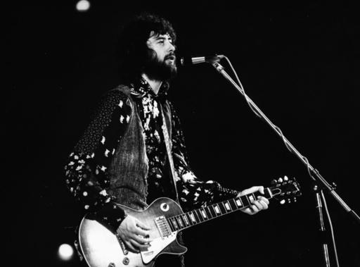 Jimmy Page bei Konzert/Led Zeppelin/1970 - Jimmy Page / Concert/Led Zeppelin/1970 -