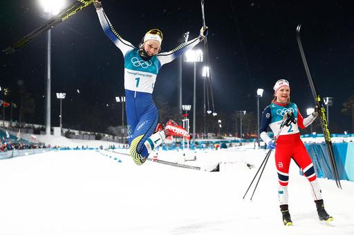 Vinter-OL. Olympiske leker i Pyeongchang 2018. Langrenn sprint.