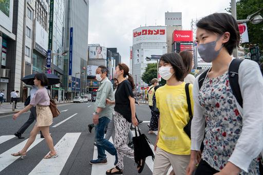 Smittetallet i OL-byen Tokyo synker. Foto: Heiko Junge / NTB