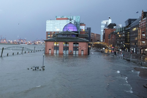 Severe weather hits Germany