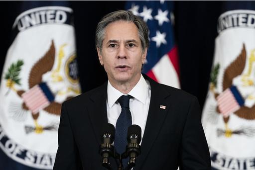 USA håper på nytt på en plass i FNs menneskerettsråd, sier utenriksminister Antony Blinken. Foto: AP / NTB