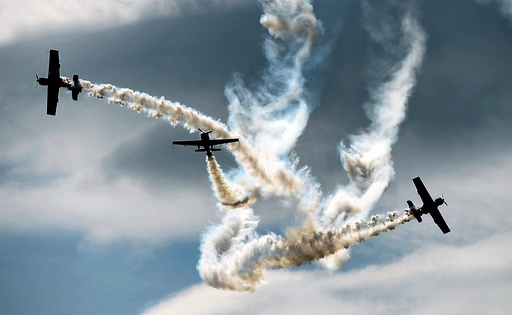 Polish aerobatic team Zelazny