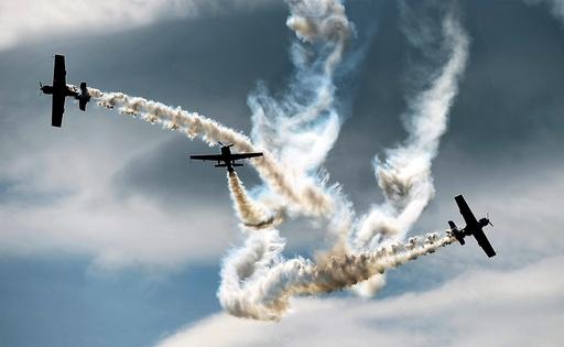 Polish aerobatic team Zelazny