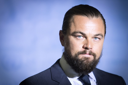 Actor Leonardo DiCaprio is pictured during a ceremony to be named a