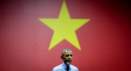 US President Barack Obama visits Vietnam