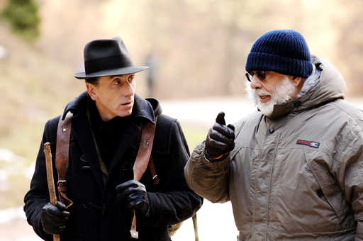 YOUTH WITHOUT YOUTH, Tim Roth, director Francis Ford Coppola, on set, 2007. ©Sony Pictures Classics/