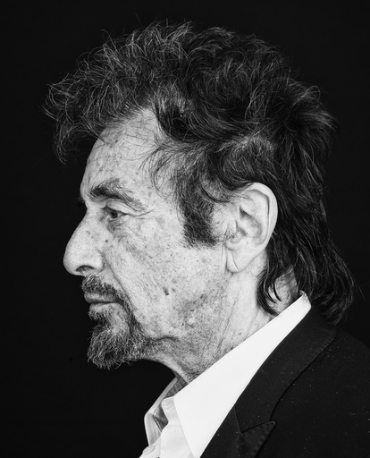 Al Pacino, who plays an aging actor struggling with memory loss, waning fame and -- ultimately -- sanity in âäœThe Humbling.
