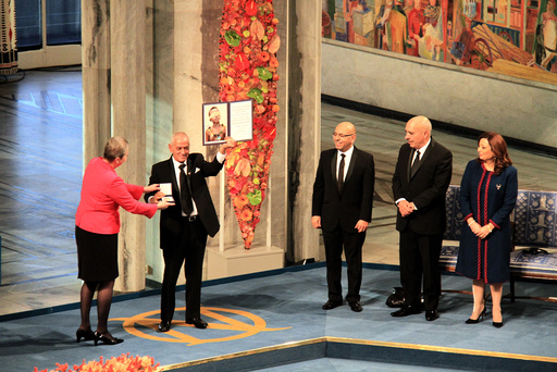 NORWAY-OSLO-NOBEL PEACE PRIZE-AWARDING CEREMONY