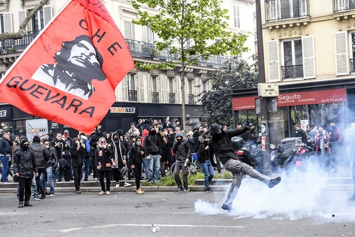 Labor Day Protests in Paris