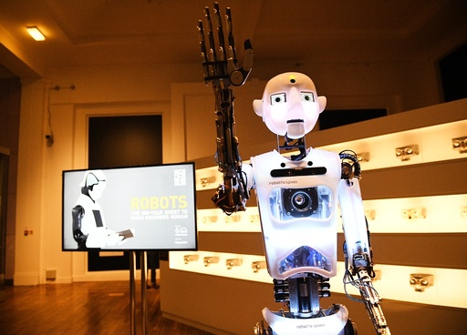 Robots exhibition at the Science Museum
