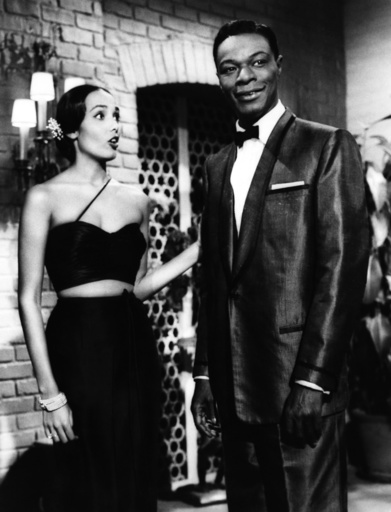 NIGHT OF THE QUARTER MOON, Anna Kashfi, Nat King Cole, 1959