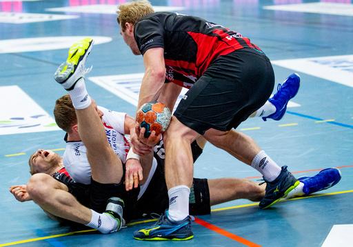 Seriefinale eliteserien håndball herrer mellom Elverum og ØIF Arendal i Terningen Arena. (24-24)