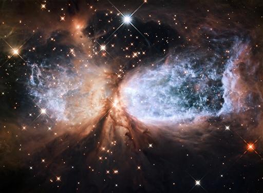 Nebula Sh 2-106, HST image