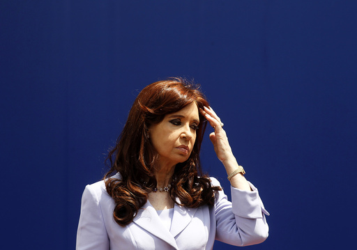 Argentina's President Cristina Fernandez de Kirchner attends the MERCOSUR trade bloc annual presidential 47th summit in Parana