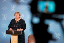 Mediene får ikke innsyn i kontakten mellom statsminister Erna Solbergs statssekretær og Molde-ordfører Torgeir Dahl. Foto: Heiko Junge / NTB