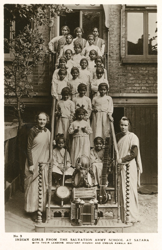 Salvation Army School at Satara, India