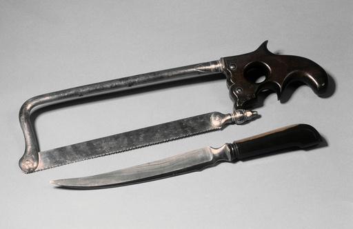 Amputation equipment, 19th century