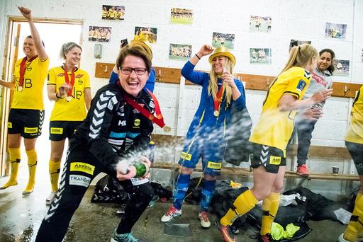 Toppserien fotball 2016: LSK Kvinner - Sandviken (4-0).