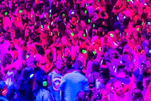 Largest Silent Disco in Europe for the European Capital of Culture closing weekend in Wroclaw