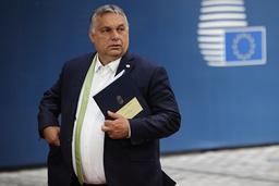 Ungarns statsminister Viktor Orbáns regjering har kranglet med Brussel i en rekke spørsmål, deriblant rettsreformer, asylregler og LHBTQ-rettigheter. Arkivfoto: Olivier Matthys / AP / NTB