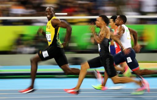 Athletics - Men's 100m Semifinals