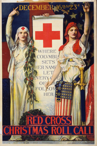 Red Cross Christmas roll call December 16th to 23rd