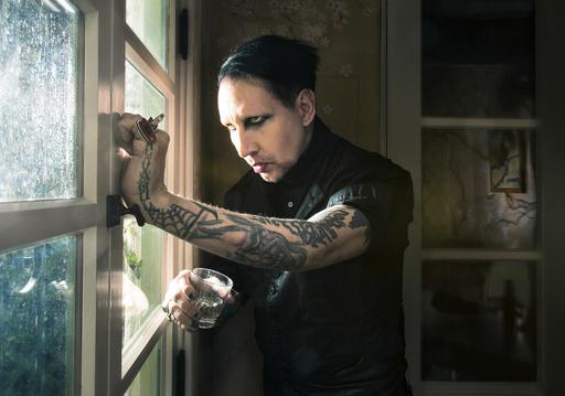 Marilyn Manson in West Hollywood, Calif.