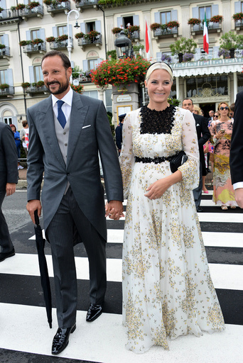Pierre Casiraghi and Beatrice Borromeo Wedding - Lake Maggiore