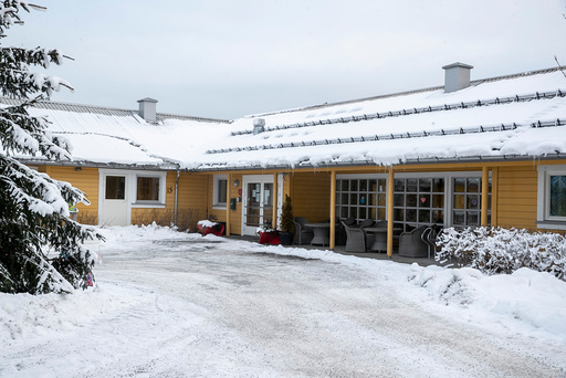 Drammen 20210106.  Fjell bo- og servicesenter i Drammen har hatt elleve koronarelaterte dødsfall på 18 dager. Fylkeslegen i Oslo og Viken har opprettet tilsyn mot sykehjemmet. Foto: Terje Pedersen / NTB