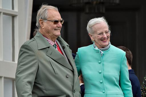 Dronning Margrethe og prins Henrik