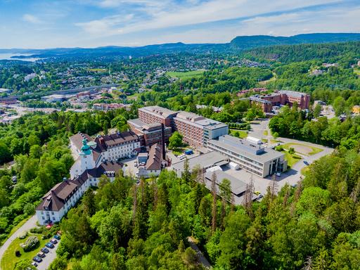 Bærum sykehus er blant sykehusene som har ingen koronapasienter for øyeblikket. Foto: Stian Lysberg Solum / NTB
