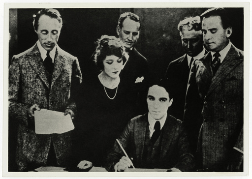 Chaplin and the United Artists