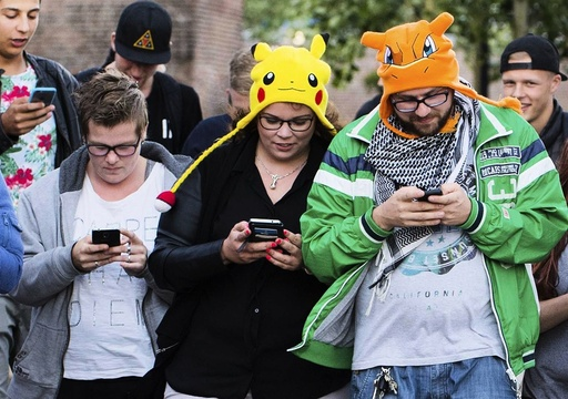 Nintendo shares rise on popularity of Pokemon Go