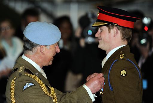 Prince Harry graduates