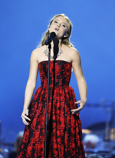 Larsson performs during the Nobl Peace Prize concert in Oslo