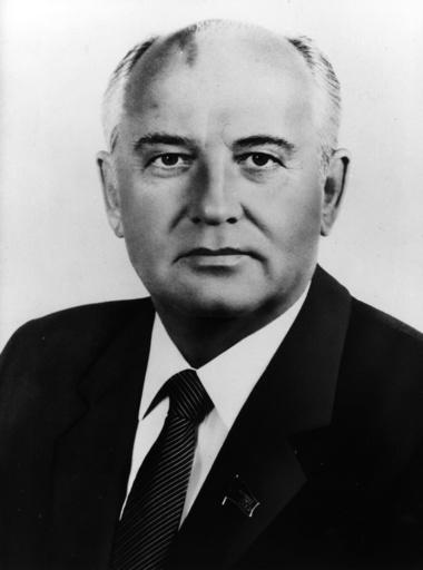 Gorbatschow / Foto um 1988 - Gorbachev / Photo / c.1988 -