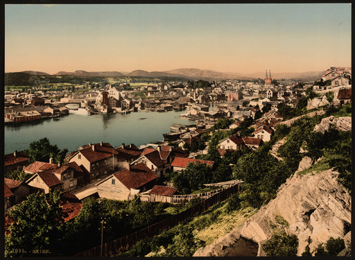 General view, Skien, Norway